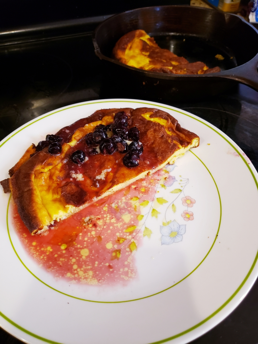 Keto Dutch Baby Oven Pancake Second Helpings